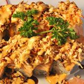 salmon tempura roll